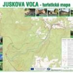 Turistická mapa Juskovej Vole a okolia