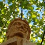 Portrét sochy zbojníka Juska