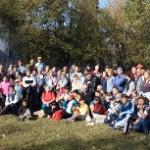 Účastníci turistického pochodu na Makovicu